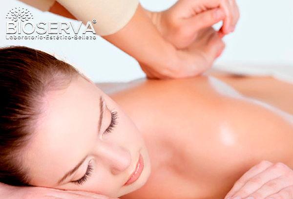 1 o 2 sesiones de masaje kinésico, descontracturante y más