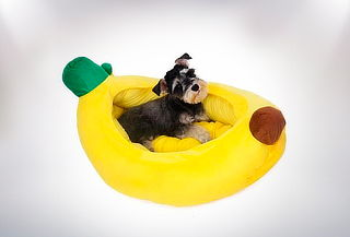Cama para Mascotas Modelo Plátano, Tamaño a Elección