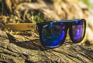 Anteojos de Sol Nerfis Native Bambú, Color a Elección