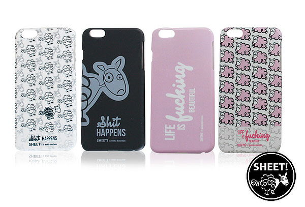 Outlet - Carcasa Sheet y Sheepie iPhone 4 - 5 - 6 - 6plus