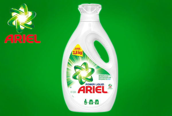 Ariel Power Liquid de 1,9 Litros