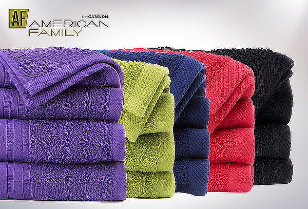 Pack 2 Toallas de Baño American Family by Cannon
