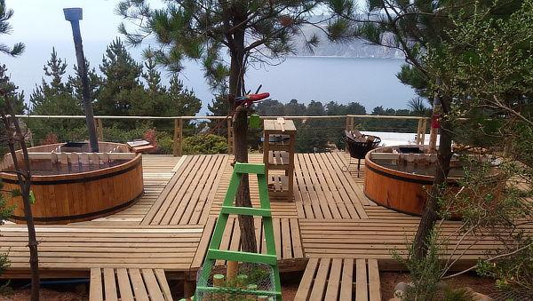 Día de Spa en Cabañas Carilafquén, Laguna Verde para 2 Pers.