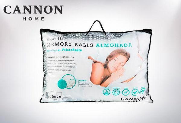 Pack 2 Almohadas Fiber Balls 200 Hilos Cannon