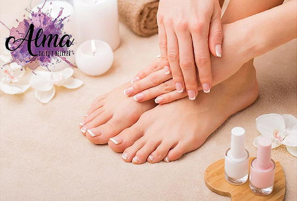 Manicure + Pedicure Express