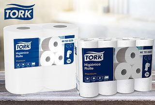 Pack 48 Rollos de Papel Higiénico Premium Tork 20 metros