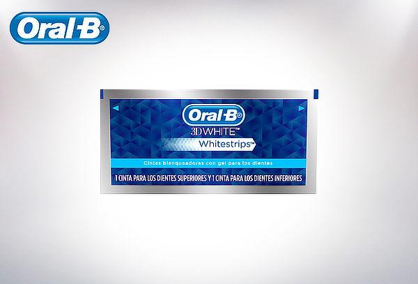 Cintas Blaqueadoras Oral-B 3D White