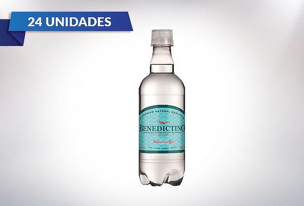 24 Botellas de Agua Purificada Benedictino Con o Sin Gas