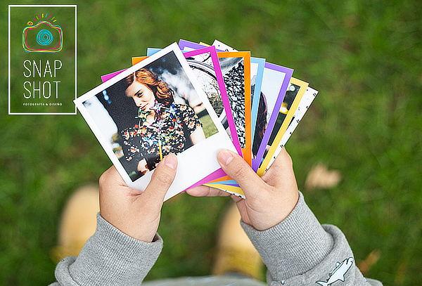 Revelado digital de fotos estilo Polaroid