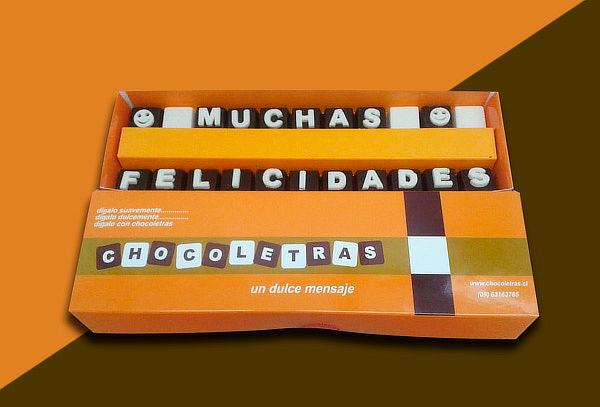 Bombones con Mensaje Personalizado, Las Condes