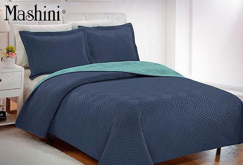 Quilt Mashini Bicolor 100% Microfibra 057b2a5c1f60