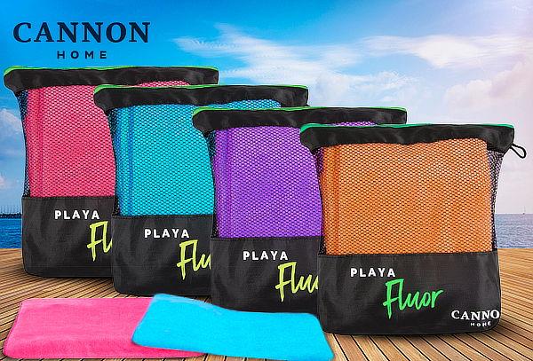 Toalla de Playa Flúor 100% Microfibra American Family