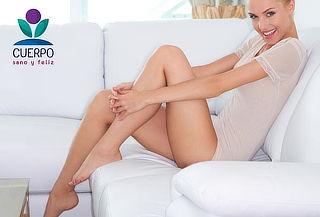 Depilación piernas completas + rebaje brasilero
