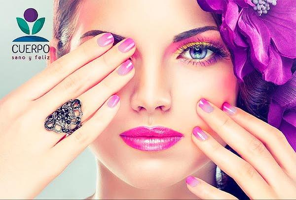 Manicure permanente completa con degrade