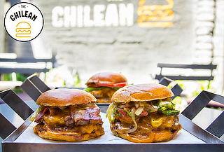 2 hamburguesas doble a elección en The Chilean