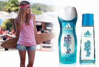 Fragancia Adidas para Mujer Edt 50 ml + Gel Pure lightness