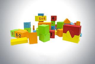 Outlet - Cubos Didácticos Goma Eva