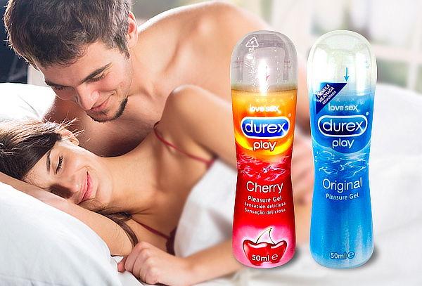 Pack Lubricantes Durex Play Cherry + Original