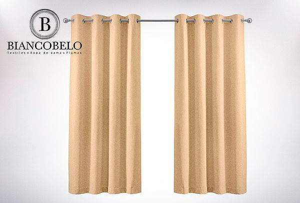 Outlet - Cortina 1 Paño Black Out 145x250
