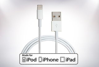 Outlet - Cable Lightning certificado para iphone, ipad o ipod