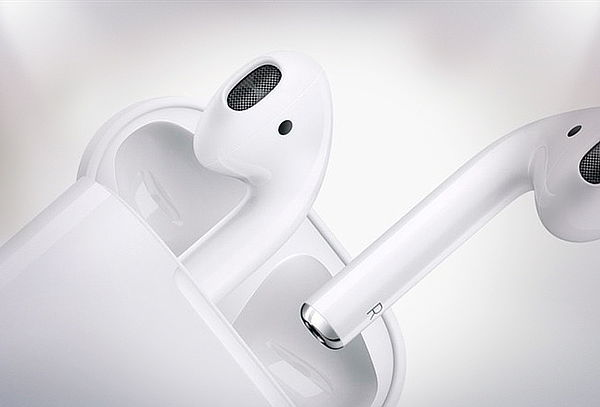 Audífonos Tipo Earpod Inalámbricos Color Blanco
