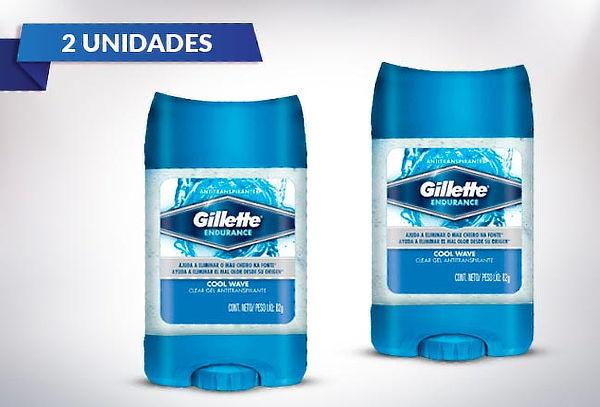 Pack 2 Desodorantes Gillette Gel Cool wave