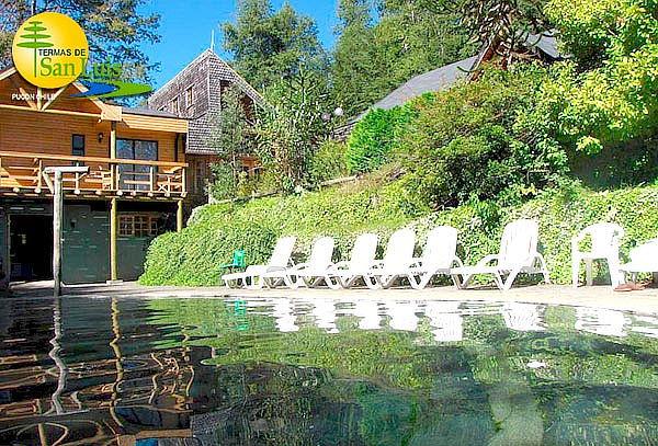 Termas de San Luis, Pucón: Acceso a piscinas para 1 o 2 pers