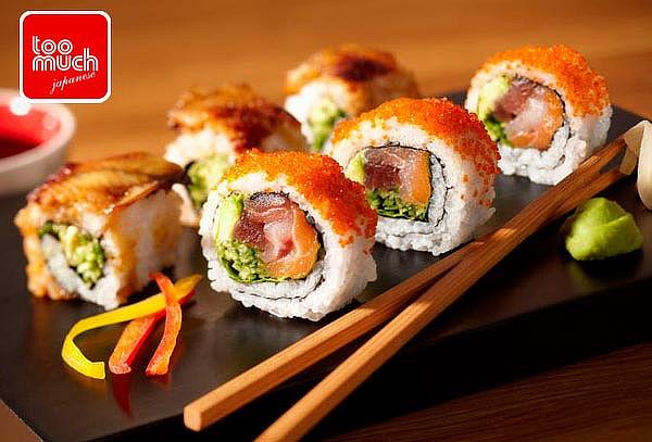 Tenedor Libre + Postres o Entradas en Too Much Sushi