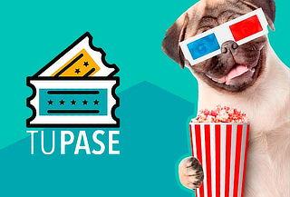 Membresía al cine de 4 entradas mensuales