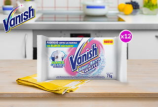 Pack 12 Vanish Super Barra Blanca