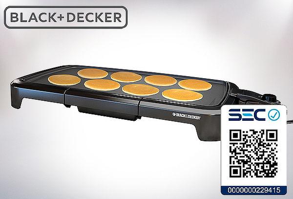 Parrilla Eléctrica Black & Decker