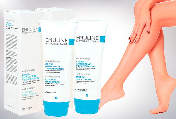 Pack 2 Cremas Emuline Antiestrías Reafirmante 200 ml