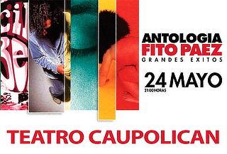 Entrada a Fito Páez 24 Mayo en Teatro Caupolican.