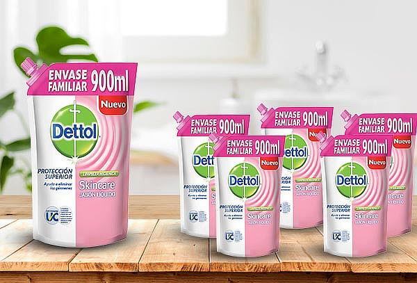 Pack de 6 Jabónes Líquidos Skincare Dettol