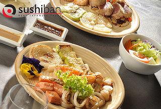 Teppanyaki para 2 en Sushiban, Las Condes y Vitacura