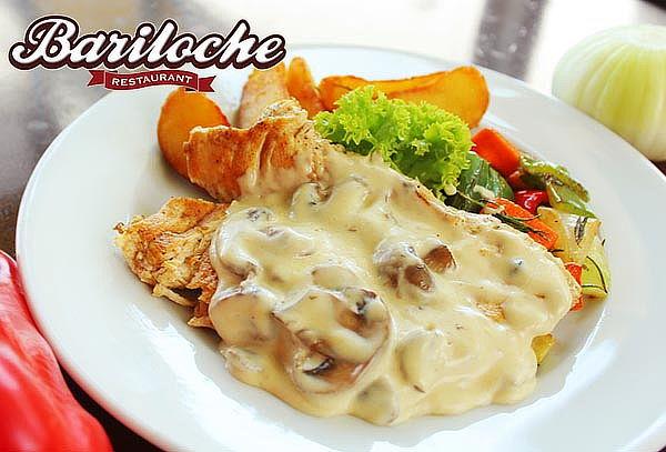 Almuerzo o cena para 2 a elección en Bariloche