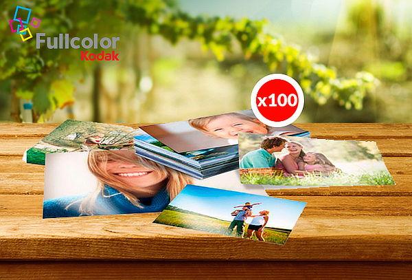100 Fotos Kodak Express 13 x 18 cm