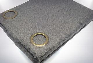 Set de 2 Cortinas Black Out Térmica con Textura