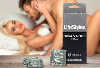 21 preservativos LifeStyles Nuda - Ultra Sensible