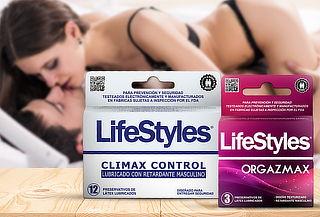 Pack Lifestyles Orgazmax y Climax Control