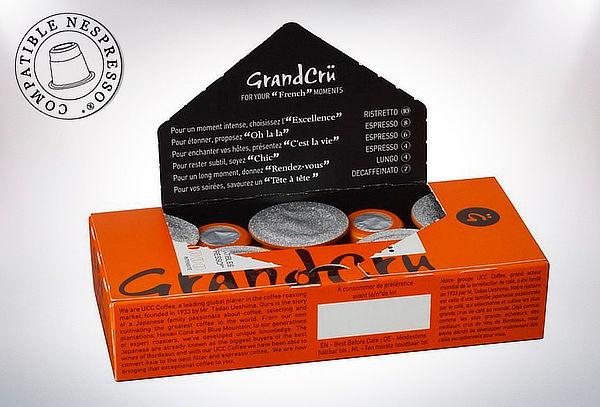Pack 30 Cápsulas Grand Crü para Nespresso Variedades