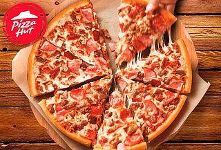 Pizza Familiar 3 ingredientes + Palitos de Ajo en Pizza Hut