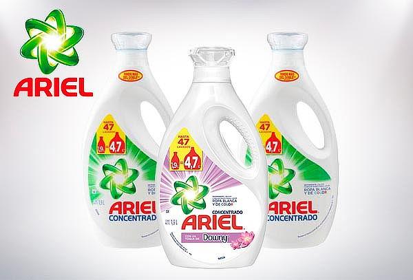 Pack de 3 Detergentes Ariel de 1.9 Lts