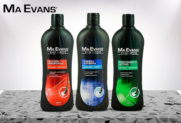 Pack 3 Shampoo Ma Evans 400ML