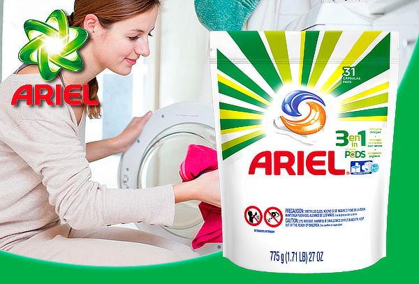 Detergente en Cápsulas Ariel Pods 3 en 1