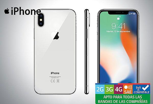 Celular iPhone X 64 o 256 GB