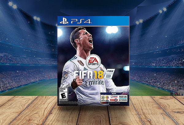 Juego PS4 Fifa 2018