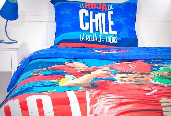 Set de Sábanas La Roja de Chile