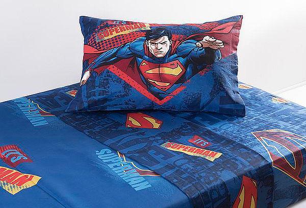 Set de Sábanas Superman Justice