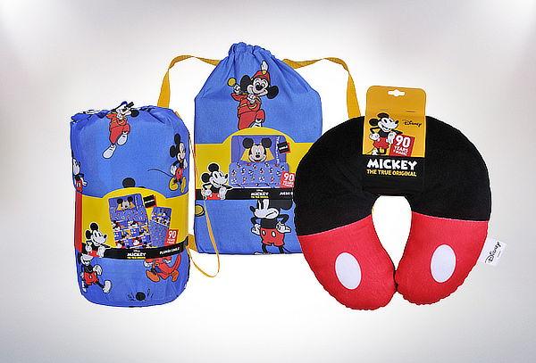Cojín o Sábana o Plumón Especial Mickey 90 Años